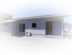 ゼロエネルギー住宅の平屋